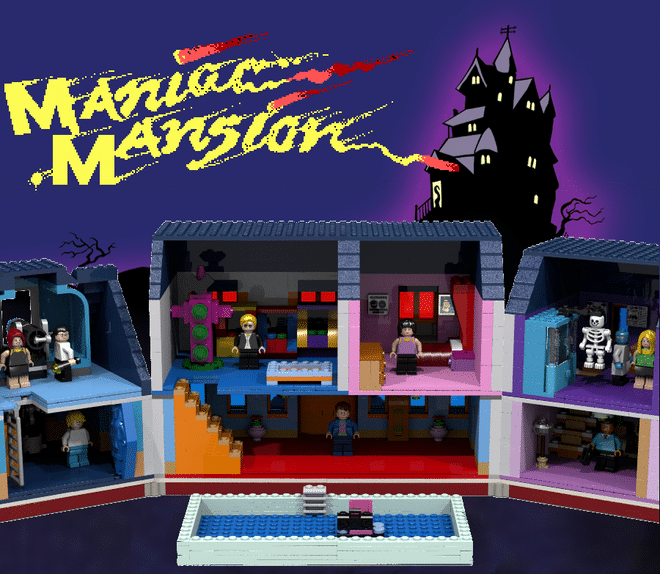 Maniac Mansion aus LEGO? Klasse! (Foto: LEGO Ideas)