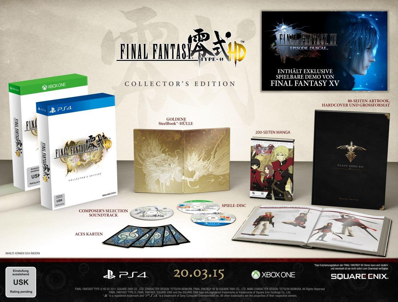 Die umfangreiche Sammler-Edition. (Foto: Square Enix)