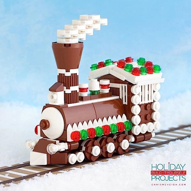 Wollt ihr diese Lebkuchen-Lokomotive bauen? Kein Problem... (Foto: Chris McVeight)