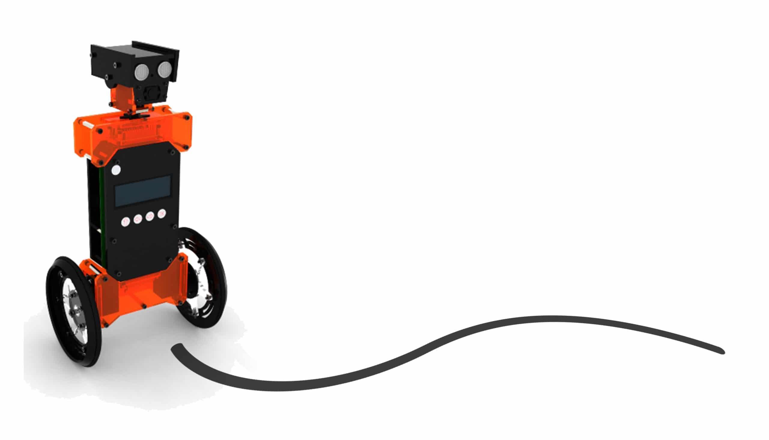 Ein fahrender Roboter - gebaut mit PiKit. (Foto: Indiegogo)