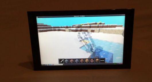 Minecraft? Kein Problem. (Foto: Kickstarter)