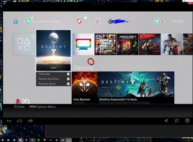 So siehts im Emulator aus. (Foto: Reddit)