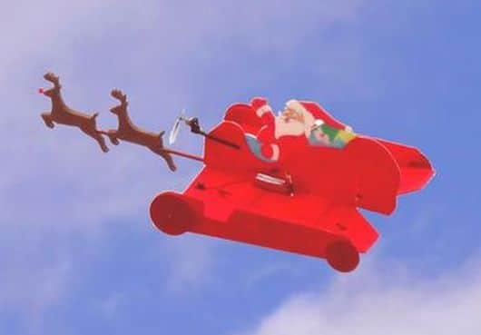 Aha! Er kann also doch fliegen! (Foto: hpe.com)