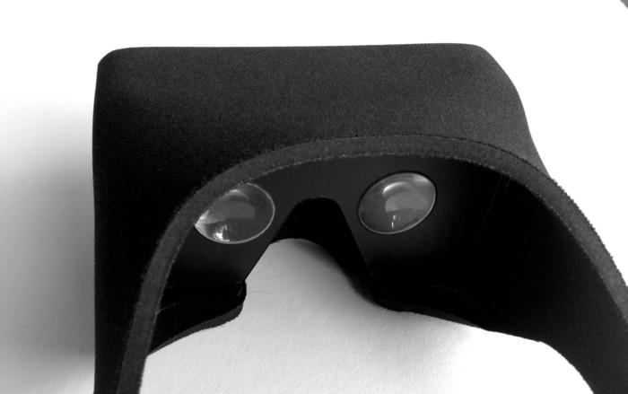 Etwas mehr als eine gewöhnliche VR-Brille. (Foto: Kickstarter)