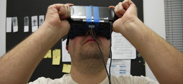 Die Vita als VR-Headset. (Foto: Pushsquare)