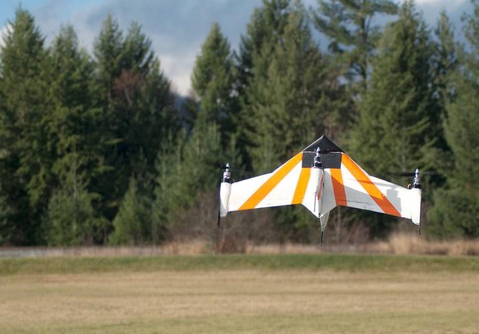 So hebt die Drohne ab. (Foto: Kickstarter)