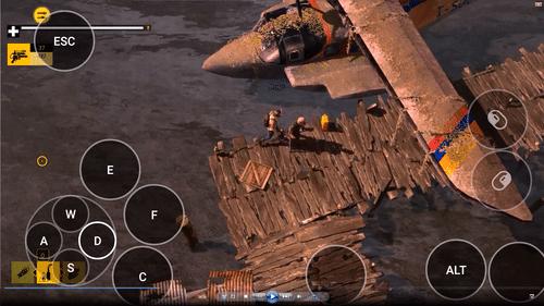 """Das PC-Spiel """"How to Survive"""" sieht so auf dem Tablet aus. (Foto: Remotr)"""