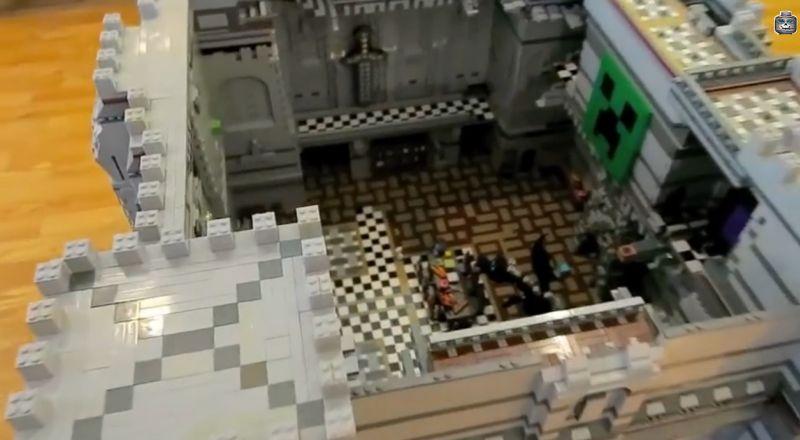 Ein Blick auf die Burg. (Foto: Youtube)