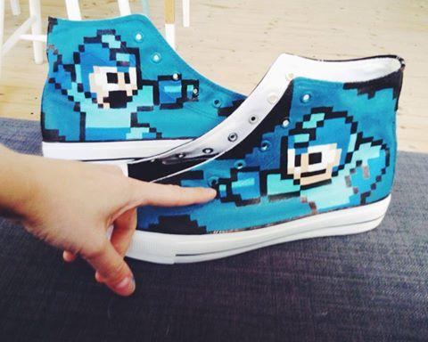 Mega Man auf dem Schuh? Nur ein Beispiel von vieeeelen. (Foto: Bobsmade)