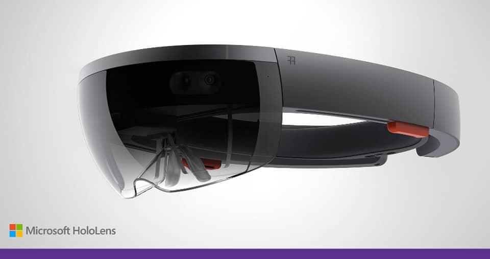 Die HoloLens-Brille. (Foto: Microsoft)