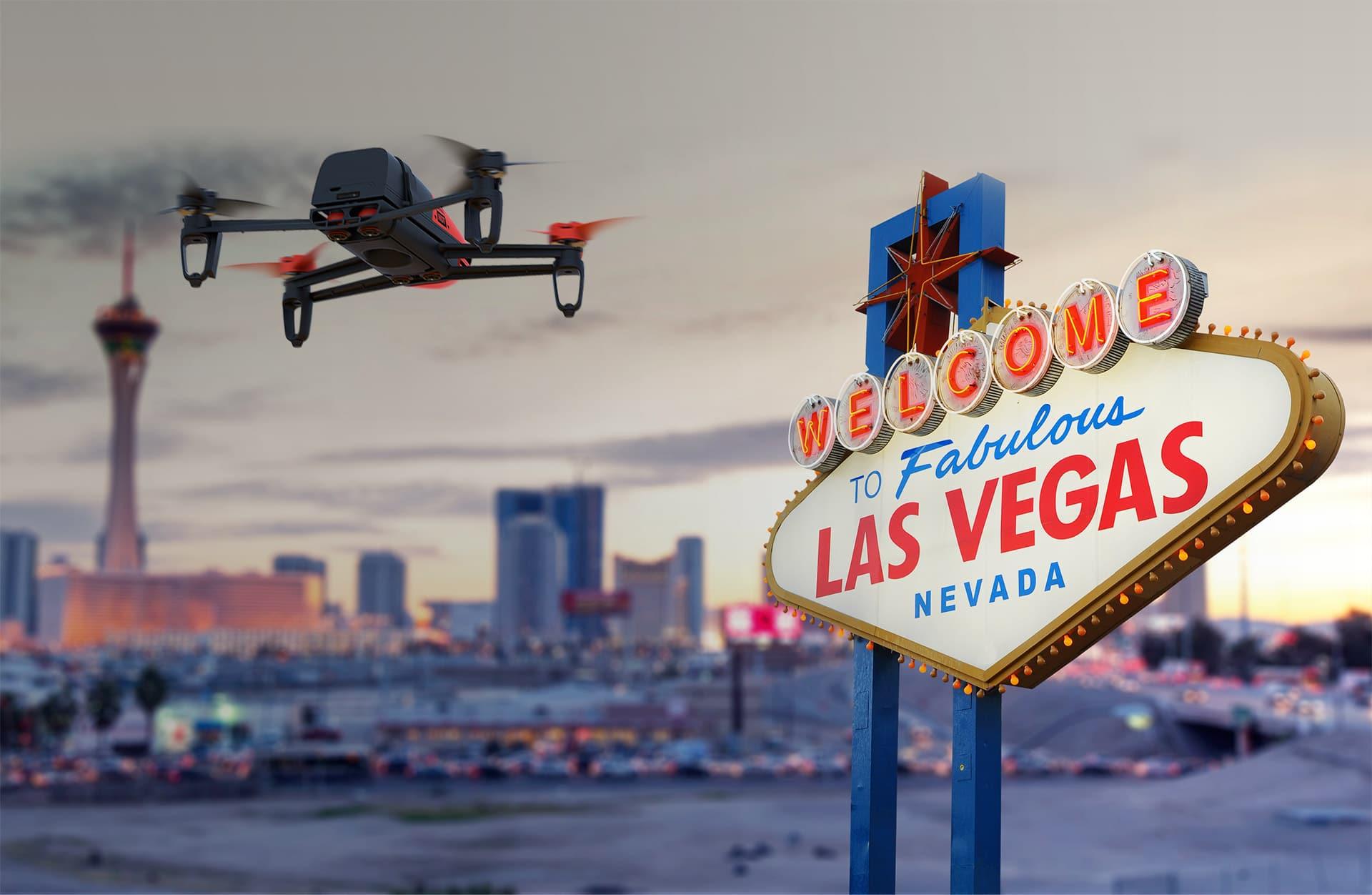 Drei neue MiniDrones wurden auf der CES 2015 in Las Vegas vorgestellt. (Foto: Parrot)