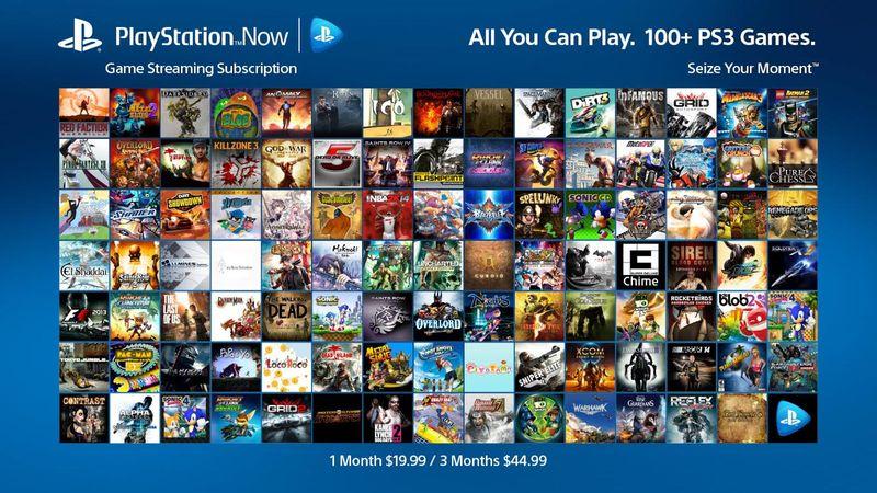 Diese Spiele gibt's für den Anfang. (Foto: Sony)