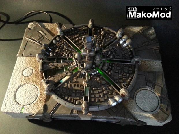 Midgar trifft auf PlayStation. (Foto: MakoMod)