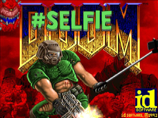 Doom als Selfie-Edition. Sowas aber auch... (Foto: DoomWorld)