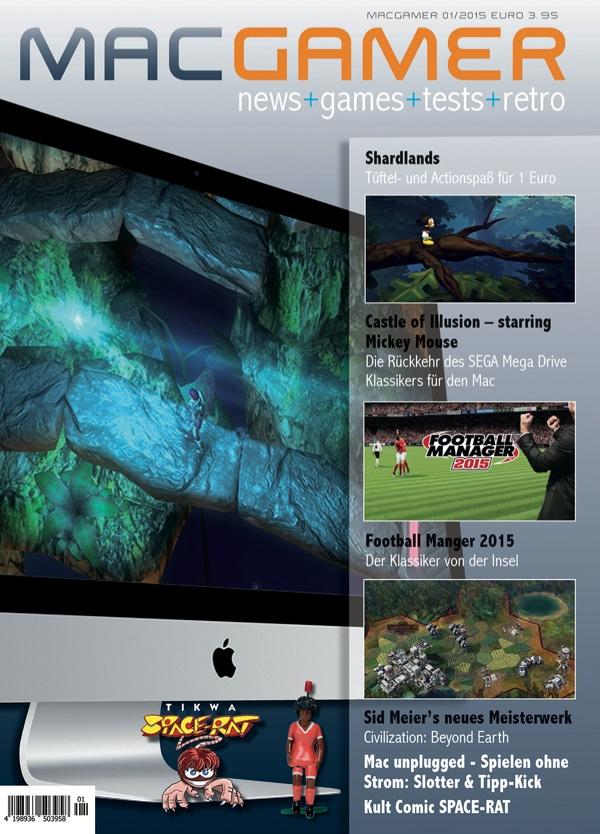 Das Cover der ersten Mac Gamer. (Foto: CSW-Verlag)