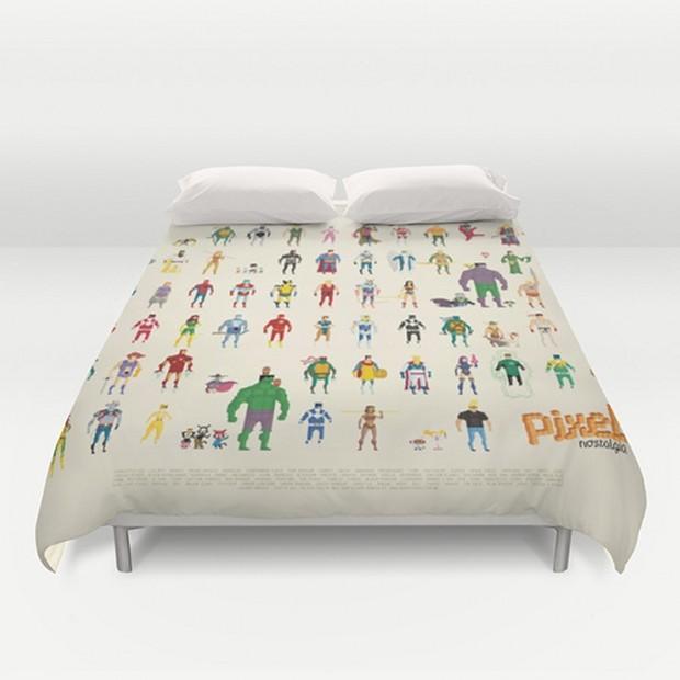 Superhelden fürs Bett. (Foto: Society6)