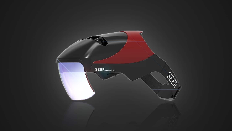 Futuristische VR/AR-Brille. (Foto: Kickstarter)