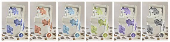 Niedliche Automaten. Aber spielen könnt ihr mit denen nicht so recht. (Foto: Etsy)