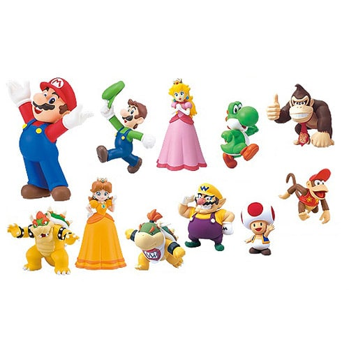 Super Mario Selection Furuta Choco Egg Figure Collection Set (Entertainment Earth)