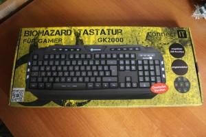 Biohazard-Tastatur. (Foto: GamingGadgets.de)