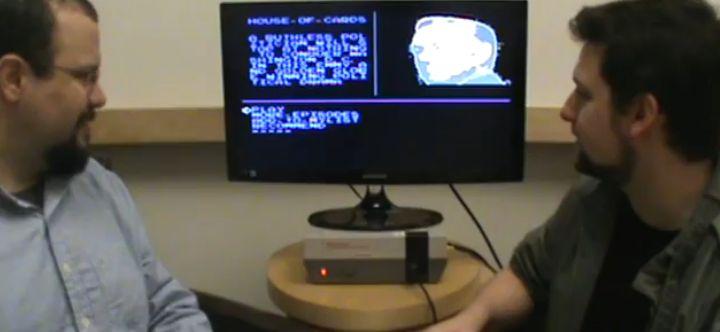 Die NES-Konsole musste nicht modifiziert werden. (Foto: Screenshot)