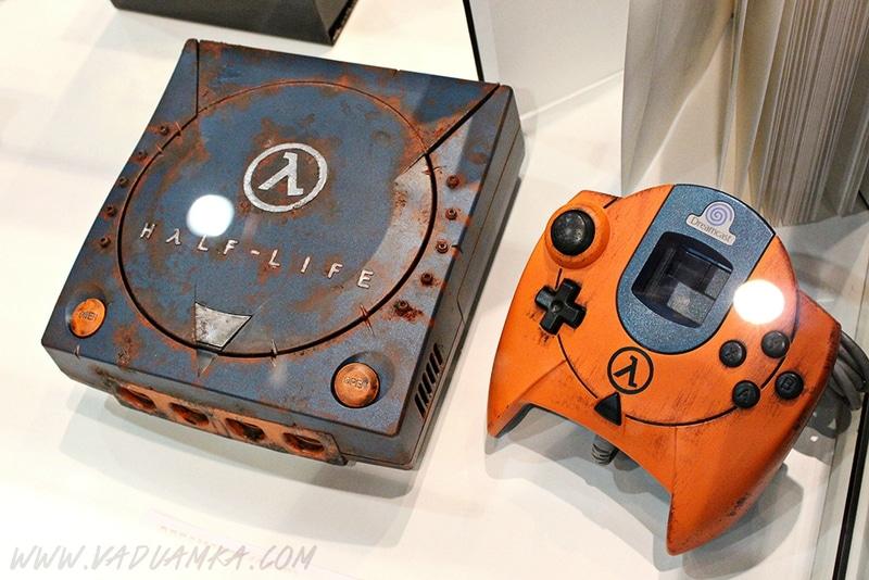 Eine ganz besondere Dreamcast. (Foto: Vadu Amka)