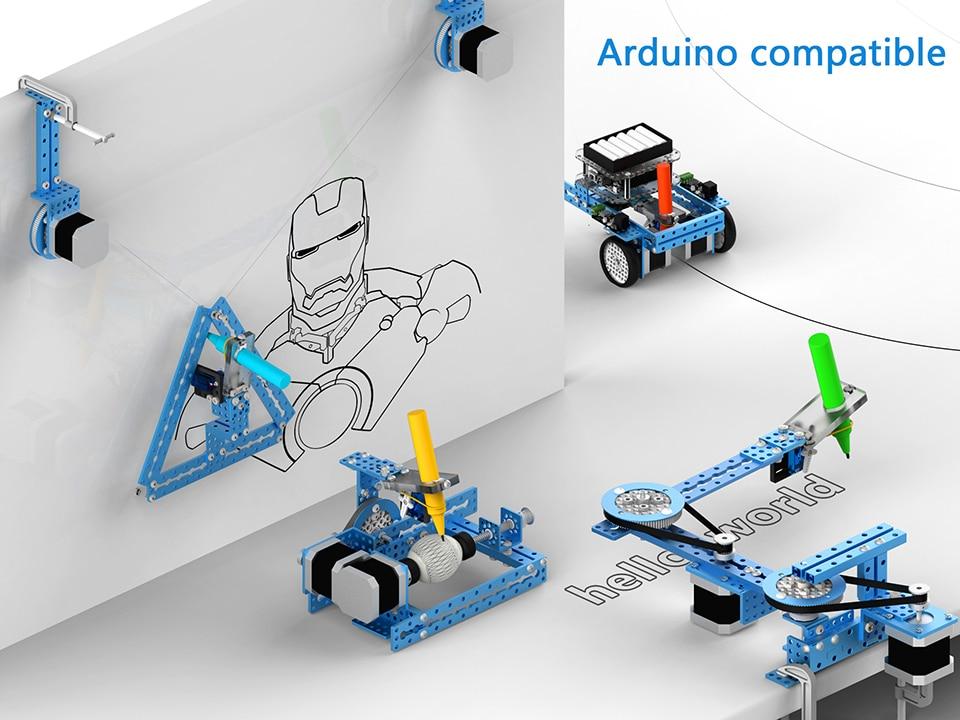 Für Kenner relevant: Arduino-Kompatiblität ist sichergestellt. (Foto: Makerblock)