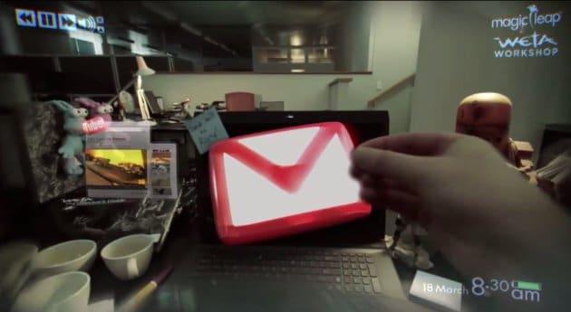Magic Leap möchte Augmented Reality weiter voranbringen. (Foto: Screenshot)