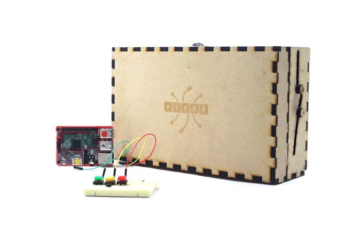 Eine Kiste, in der jede Menge Minecraft-Spaß steckt. (Foto: Piper)