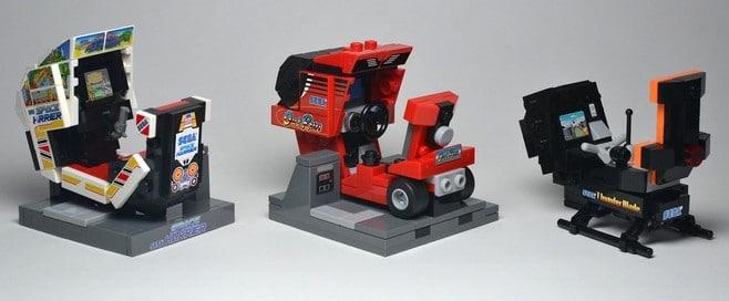Niedliche Automaten zum Basteln. (Foto: LEGO Ideas)