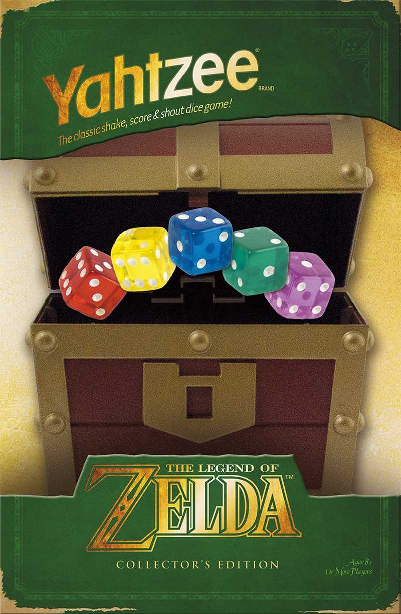 Falls Link & Zelda gerne würfeln, dann... (Foto: USAopoly)