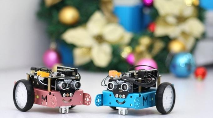 Süßer Roboter für wenig Geld. (Foto: Makeblock)