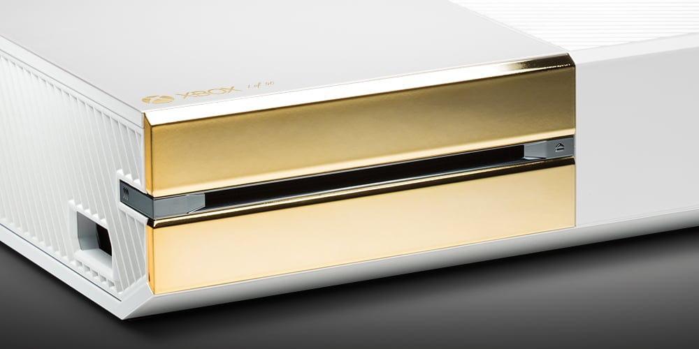 Schicker Gold-Stil. (Foto: ColorWare)