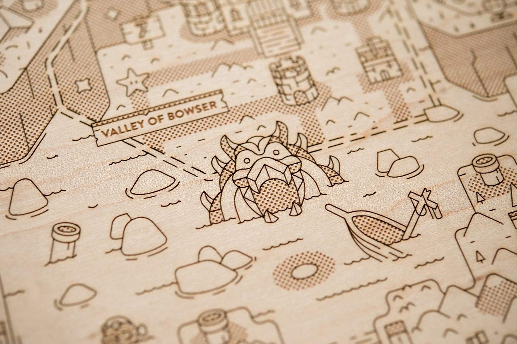 Sieht diese Karte nicht schön aus? (Foto: Alex Griendling)