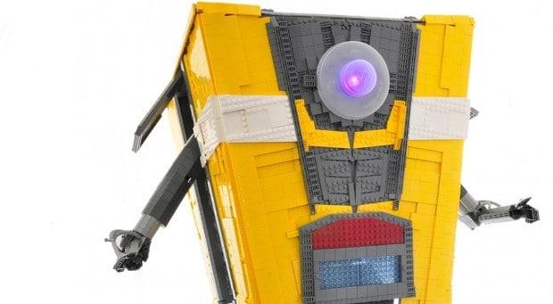 Ja, komplett aus LEGO! (Foto: Simon Liu)