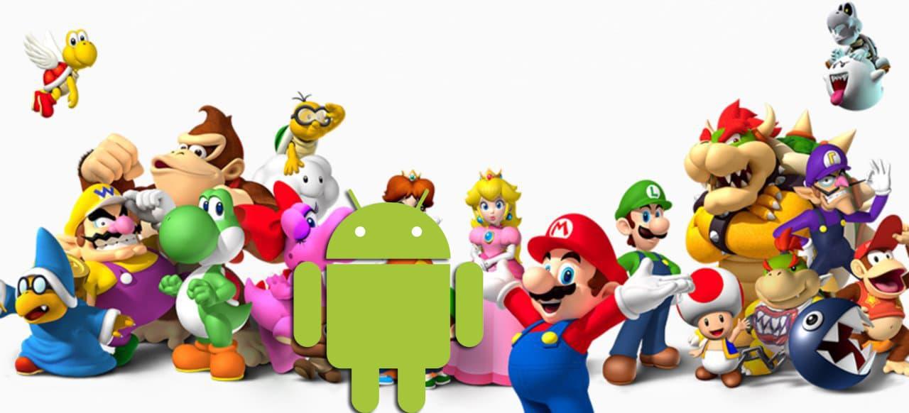 Nintendo trifft auf Android. (Foto: Nintendo & Google / Collage)