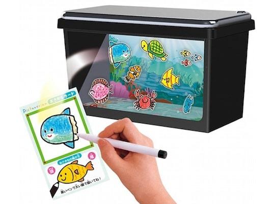 Aus dem Smartphone wird ein Aquarium. (Foto: JapanTrendShop)