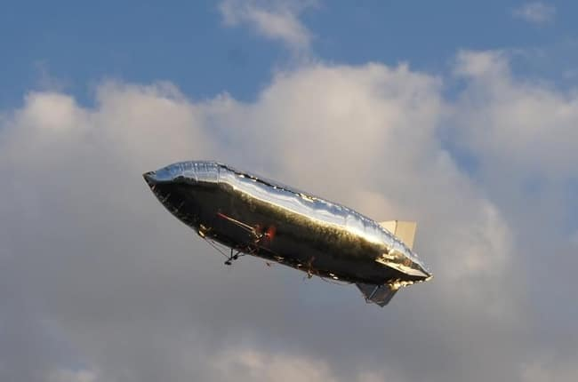 Dieses Luftschiff kann komplett gesteuert werden. (Foto: Startnext)