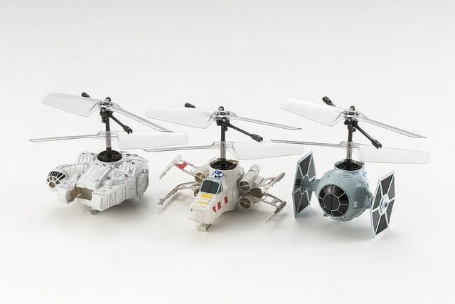 Winzige Flieger für Star Wars-Fans. (Foto: CCP)