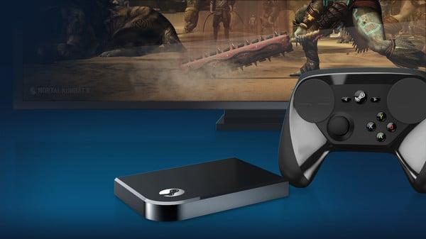 Steam Link und Steam Controller ergeben fast eine Spielkonsole. (Foto: Valve)