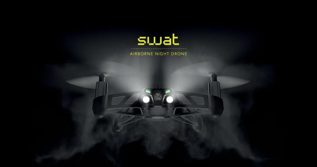 SWAT ist einer der Neuzugänge. Für Nachteinsätze. (Foto: Parrot)
