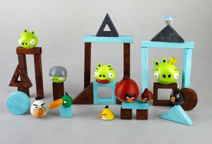 Angry Birds aus dem 3D-Drucker. (Foto: Marco Autilio)