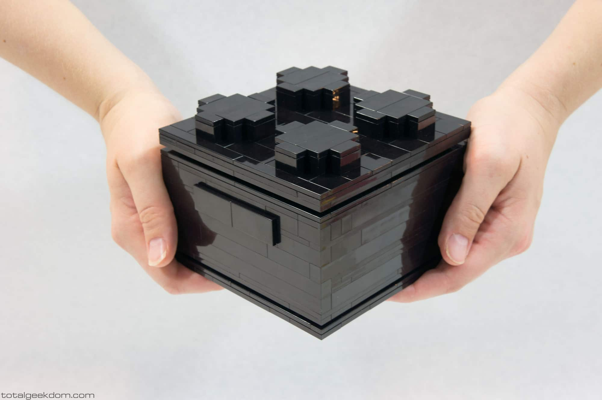 Ein LEGO-Rechner, der funktioniert. (Foto: Mike Schropp)
