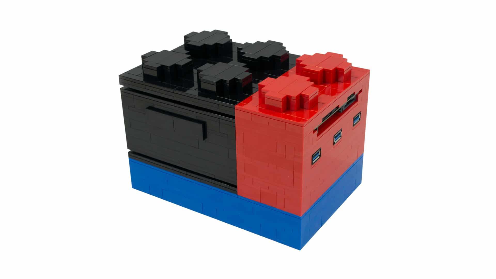micro lego computer komplettrechner oder gro er bauklotz. Black Bedroom Furniture Sets. Home Design Ideas