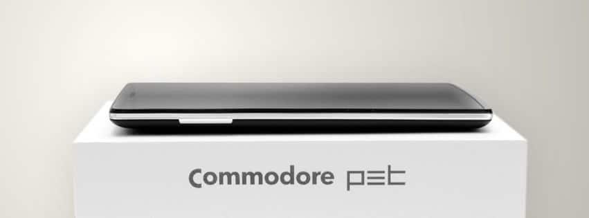 Es ist...ein Smartphone. (Foto: Commodore)