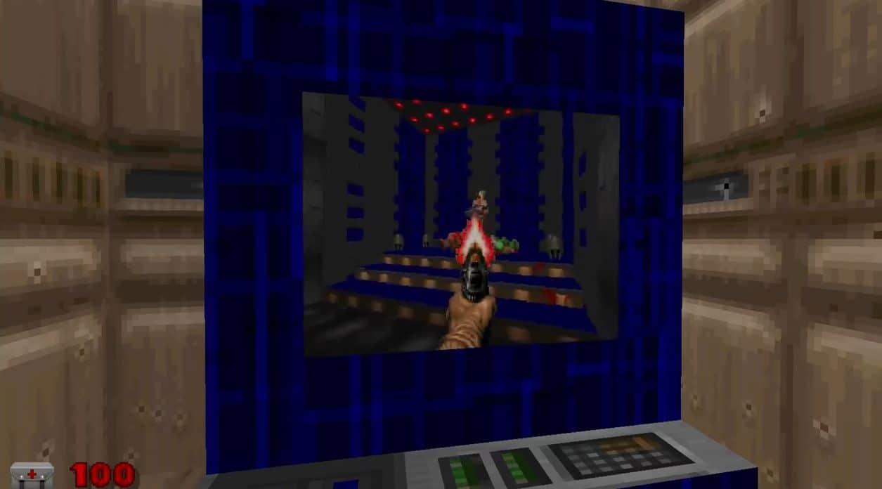 Doom in Doom. Kurios. (Foto: Screenshot)