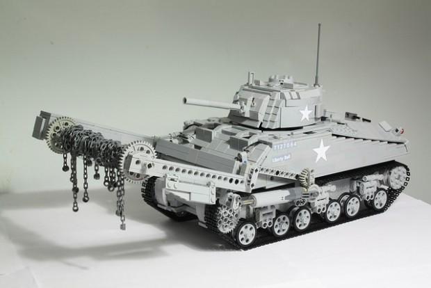 Alles aus LEGO. (Foto: Tommy Styrvoky)