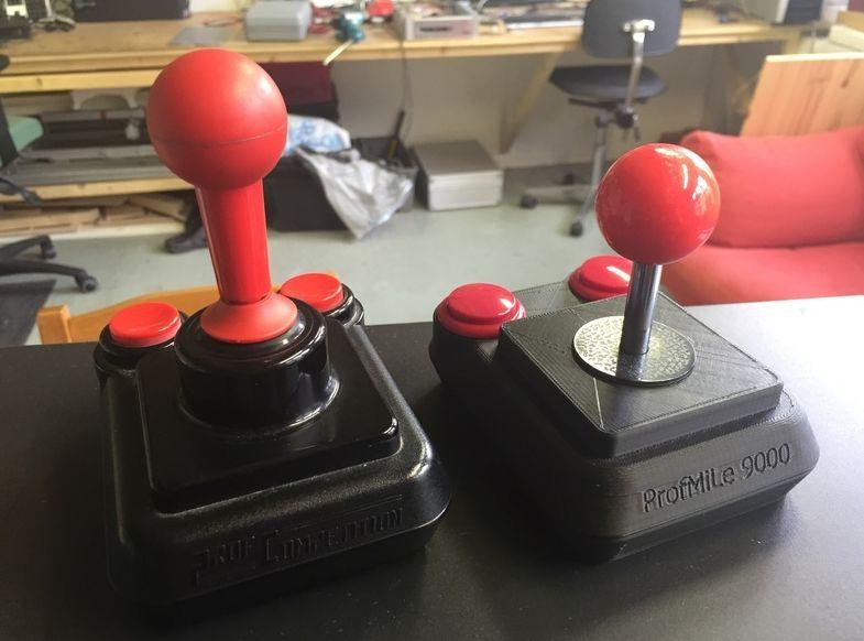 Jetzt kommen sogar schon Joysticks aus dem 3D-Drucker. (Foto: Thingiverse)