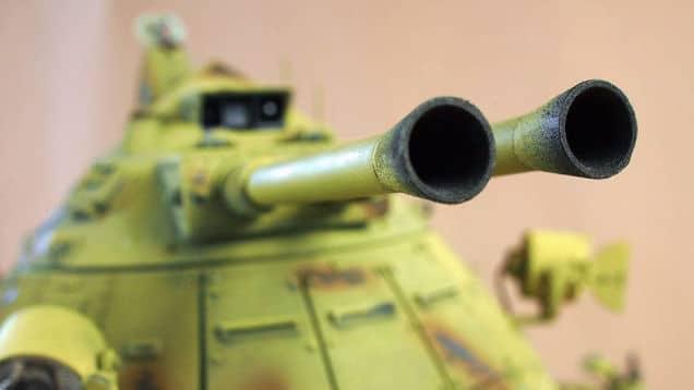 Ein gewaltiger Panzer. (Foto: Machination Studio)