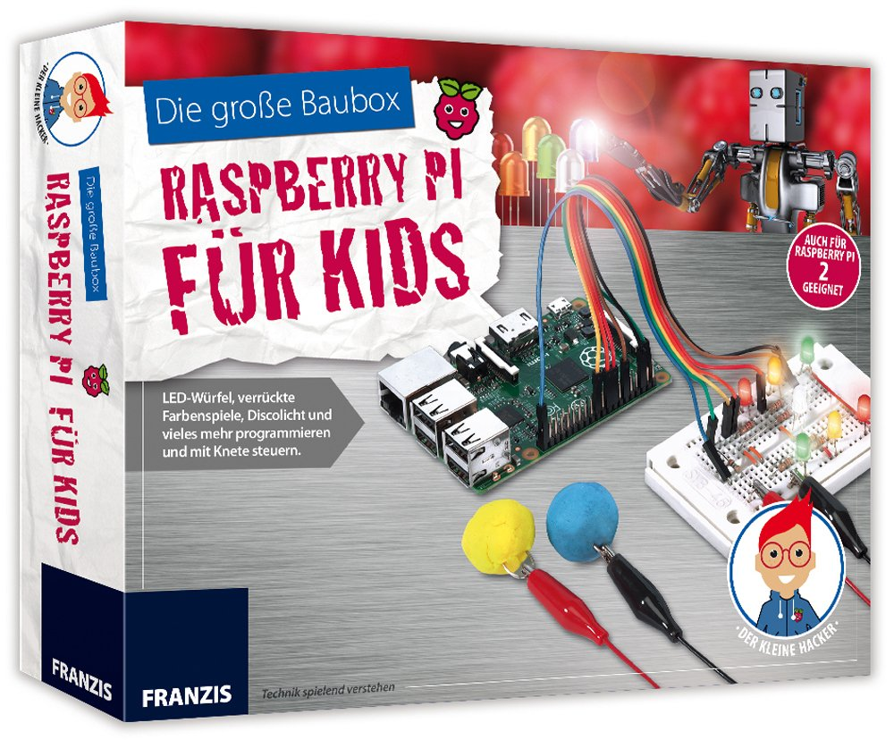 Eine Box nicht nur für Kinder. (Foto: Franzis Verlag)